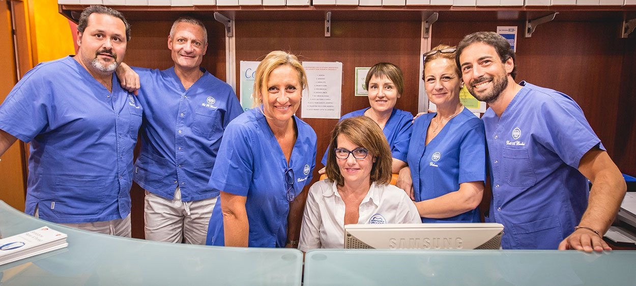 staff odontoiatrica urciuolo