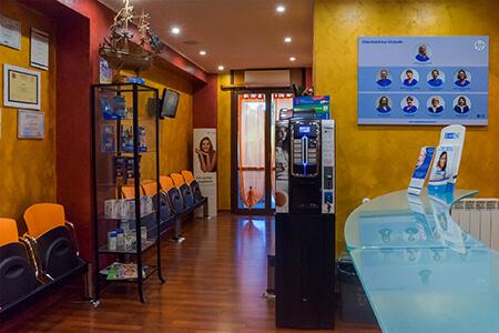 reception - odontoiatrica urciuolo