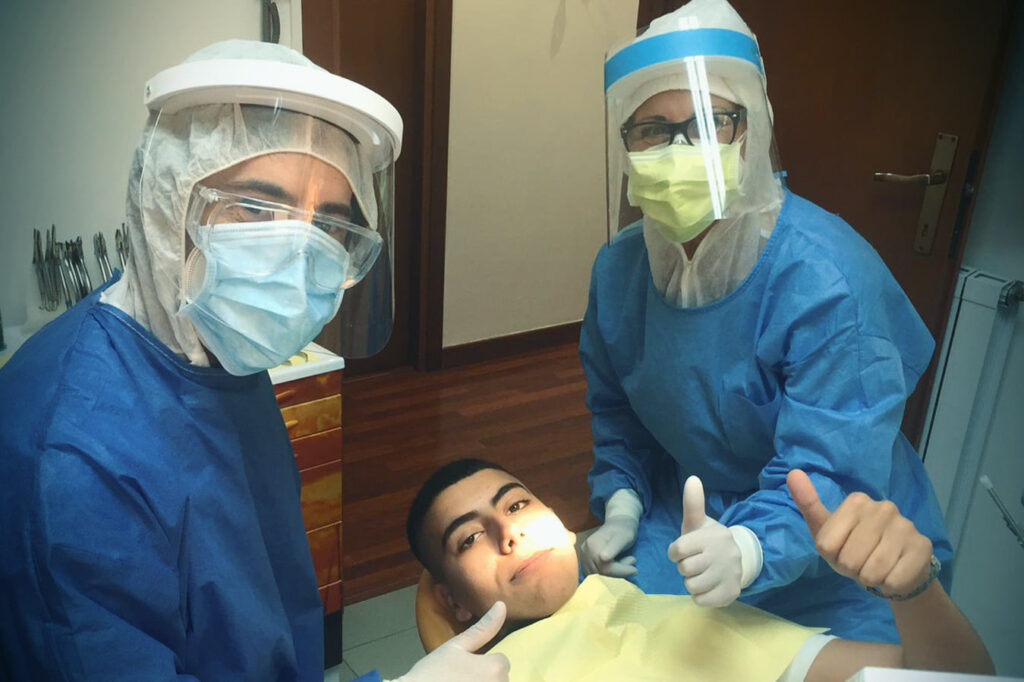 Dott. Alessio Bodini, Debora Cianfarini e Ali Ghamlouch