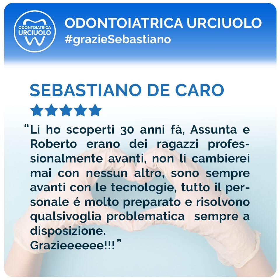 recensione Sebastiano De Caro